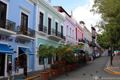 The Old Town of San Juan