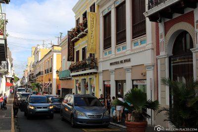 Die Altstadt von San Juan