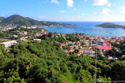 View of Charlotte Amalie