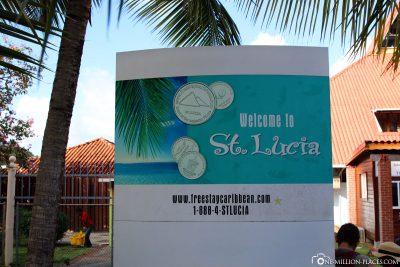 Willkommen in St. Lucia