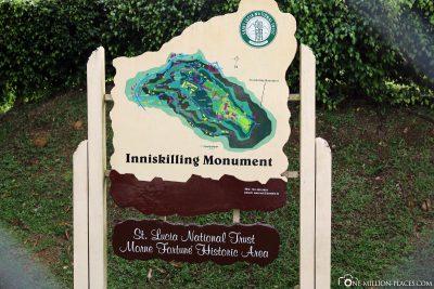 Inniskilling Monument on St. Lucia