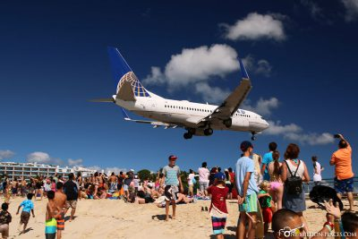The planes at Maho Beach