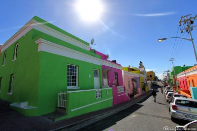 The colorful houses of Bo-Kaap