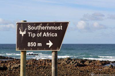 Das Kap Agulhas