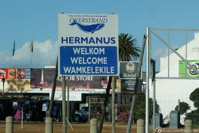 Willkommen in Hermanus