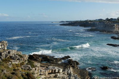 Die Küste in Hermanus