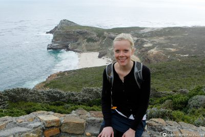At the Cape of Good Hope in South Africa
