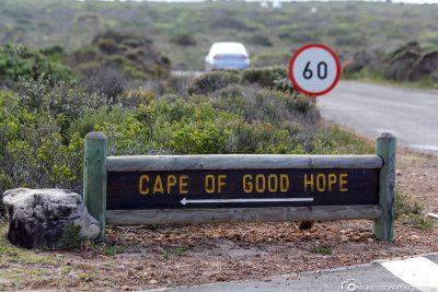 Zum Kap der guten Hoffnung