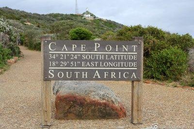 Das Cape Point Lighthouse