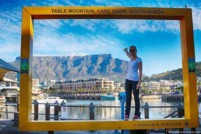 Der Riesenbilderrahmen in Kapstadt