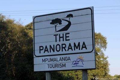 The Panorama Route in South Africa