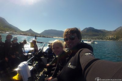 The boat trip in Hout Bay
