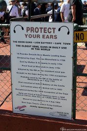 Warning on the Noon Gun