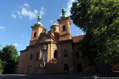 Die St. Laurentius Kirche auf dem Laurenziberg