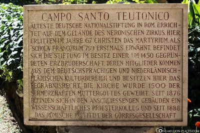 The German Cemetery in the Vatican