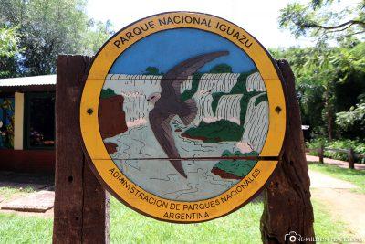 Eingang zum Nationalpark Iguazú