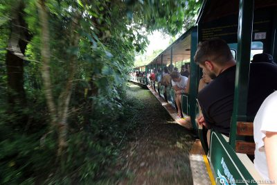 Die Bahn zum Garganta de Diabolo