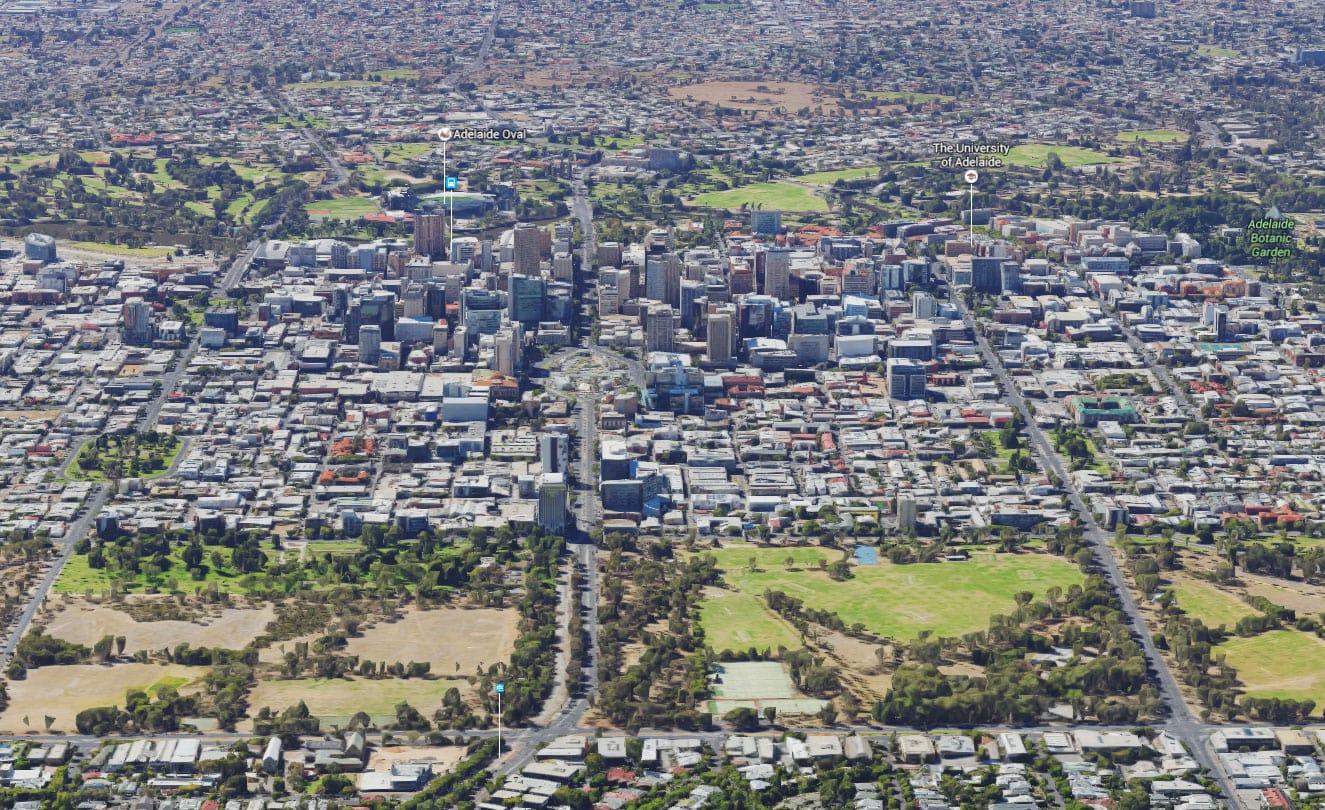 Google, Adelaide, Innenstadt, Sehenswürdigkeiten, Bundesstaat South Australia, Australien, Auf eigene Faust, Reisebericht