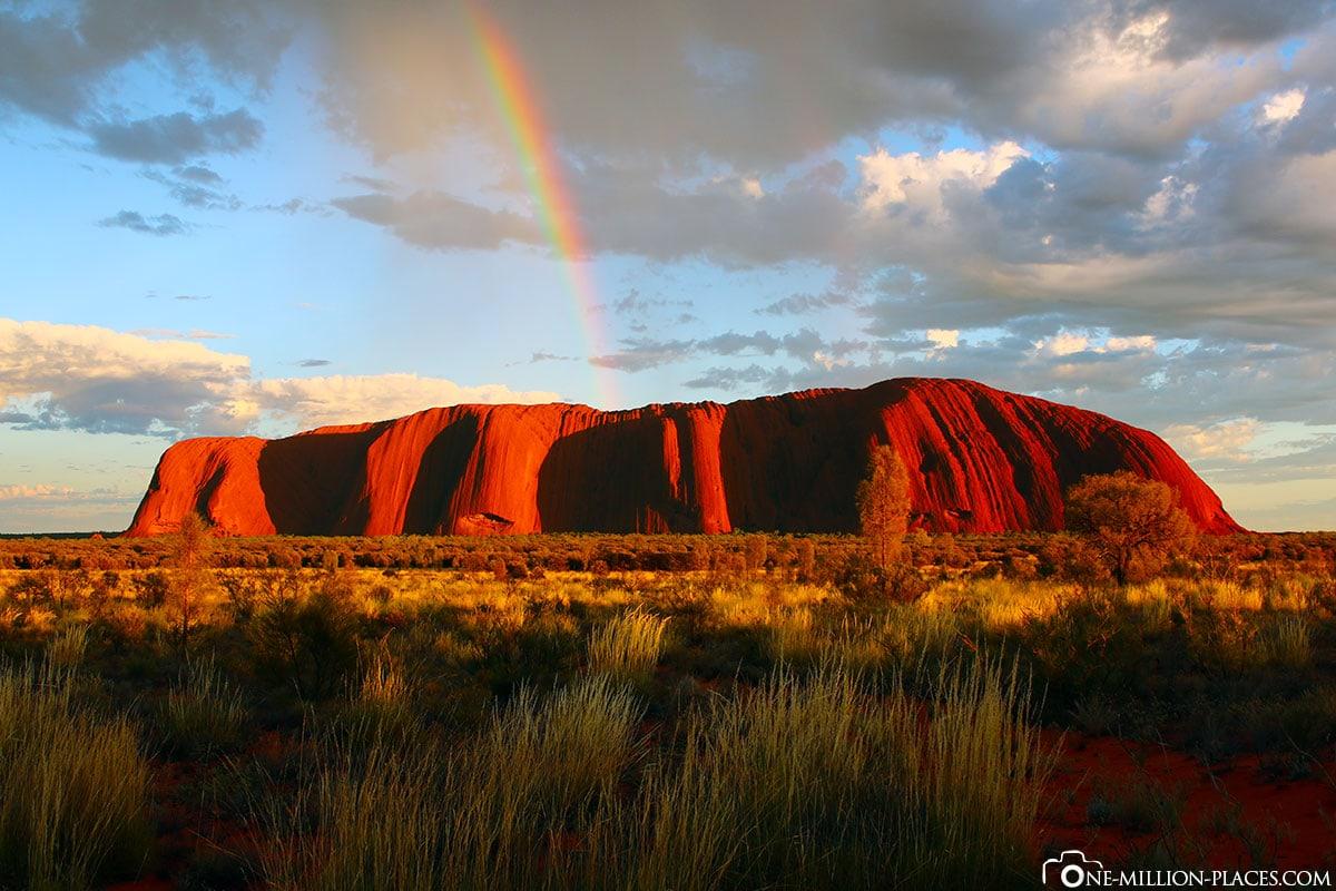 Ayers Rock, Sunrise, Australia, Travelreport, On Your Own