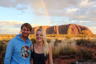 Uluru at sunrise