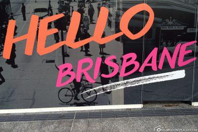 Willkommen in Brisbane