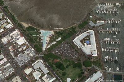The Esplanade of Cairns in Google Maps