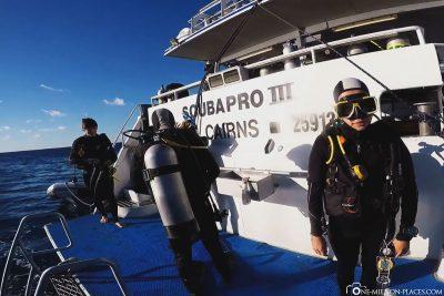 Tauchkreuzfahrt am Great Barrier Reef