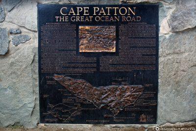 Info board Cape Patton
