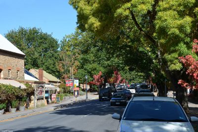 The town of Hahndorf near Adelaide