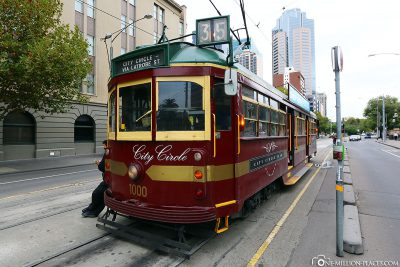 The free City Circle Tram