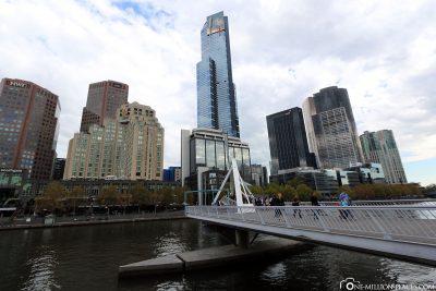 Brücke über den Yarra River