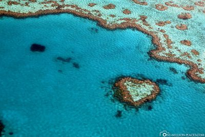 Flight over the Heart Reef