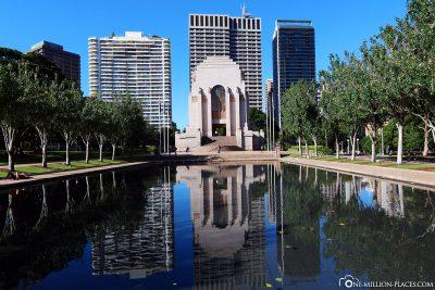 Das Anzac Memorial im Hyde Park