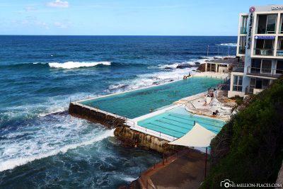 Der Bondi Icebergs Pool