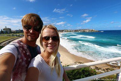Selfie am Bondi Beach