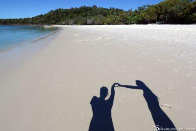 Der Whitehaven Beach