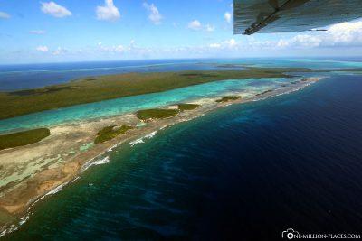 Das Turneffe Atoll