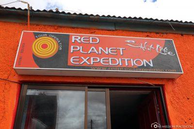 Die Agentur Red Planet Expedition