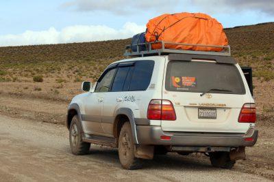 Fahrt in Bolivien Richtung Süden