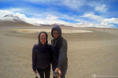 Bergseen in Boliviens Hochland
