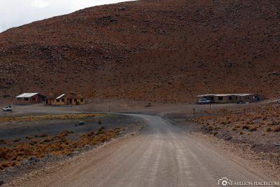 Der Weg zur Unterkunft