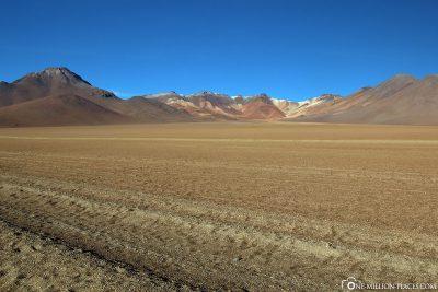 The stone desert Desierto de Dali