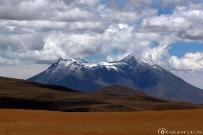The mountains of the Andes