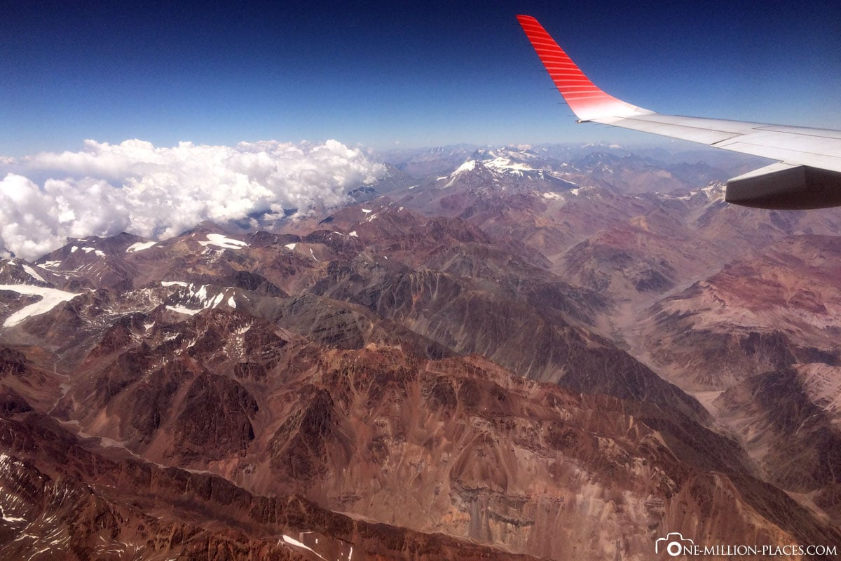 Flight, Andes, La Paz, Bolivia, Attractions, South America, On Your Own, Travelreport