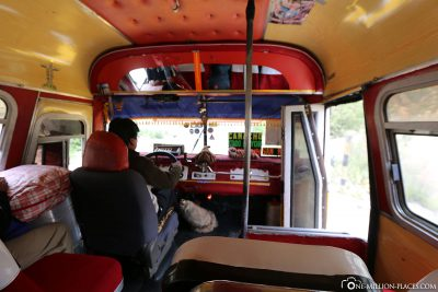 Lokaler Bus zum Moon Valley