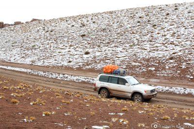 Unsere Strecke in Bolivien