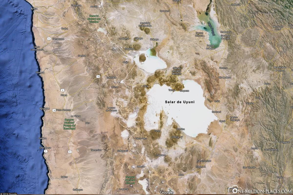 Die Salar De Uyuni Die Grosste Salzwuste Der Welt Bolivien