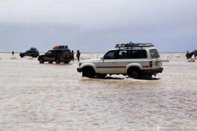By Jeep through the Salt Lake