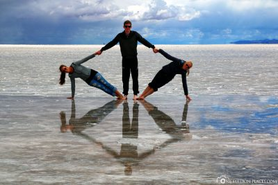 Mirror images in the Salar de Uyuni