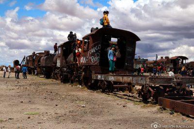 Der Eisenbahnfriedhof